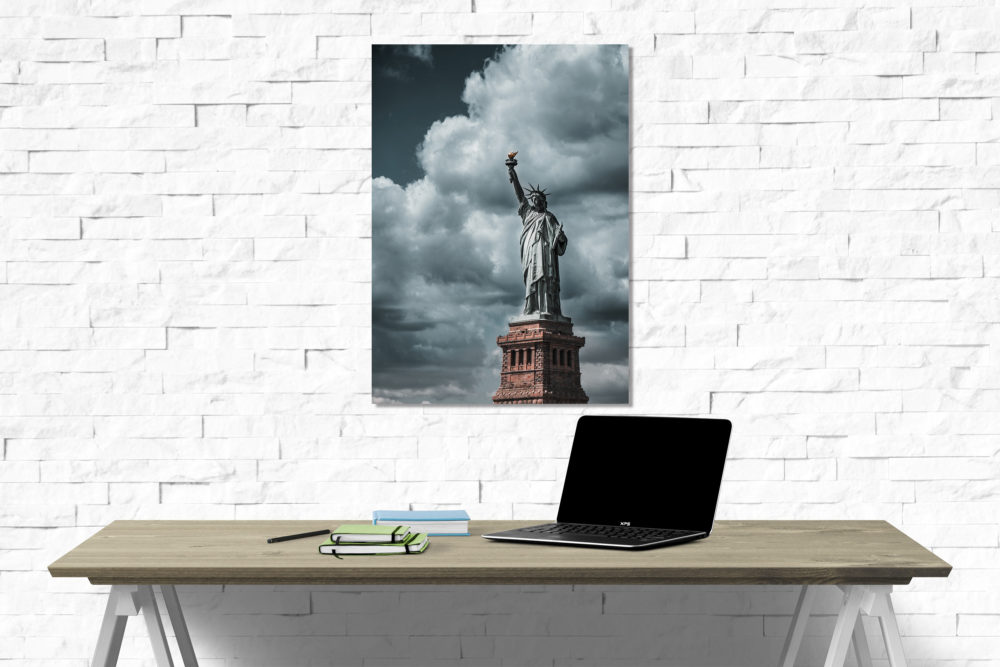 Statue of Liberty canvas on wall