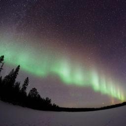 Fisheye Lens Photography Northern Lights