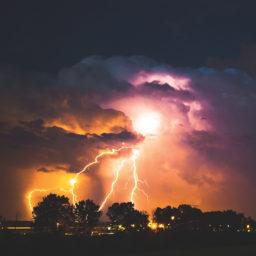 Photography of beautiful Lightning Storm